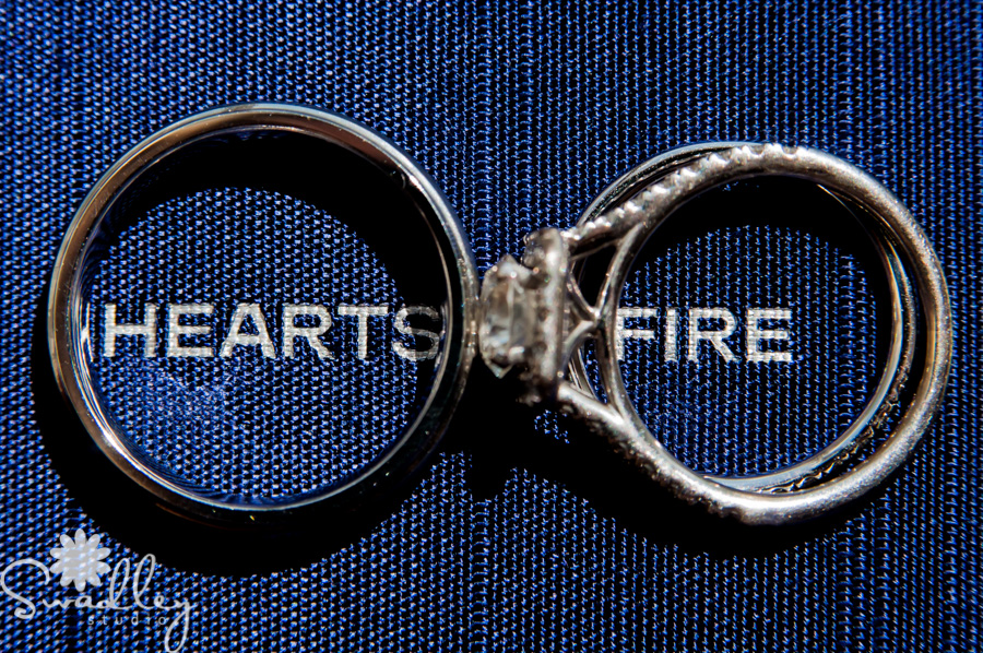 wedding rings at historic mcfarland house