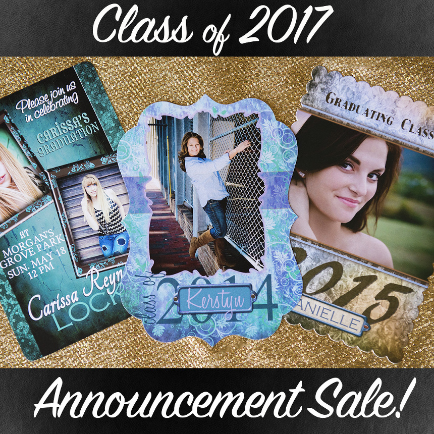 senior grad announcements