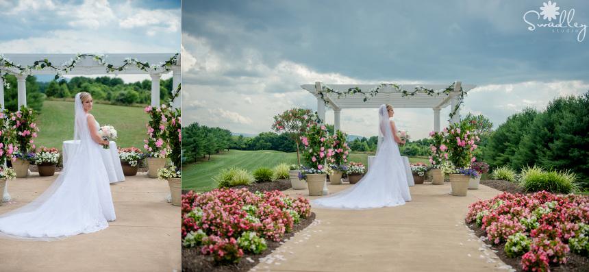 bowling green front royal va wedding photographer swadley studio bride