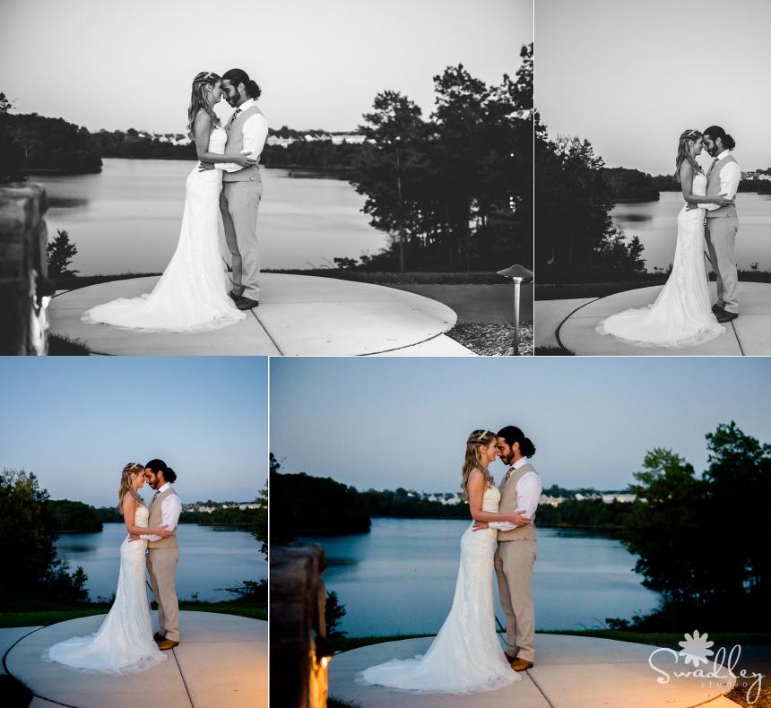 wedding photographers front royal va lakeside wedding