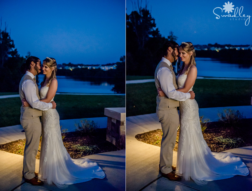 wedding photographers front royal va nighttime photography