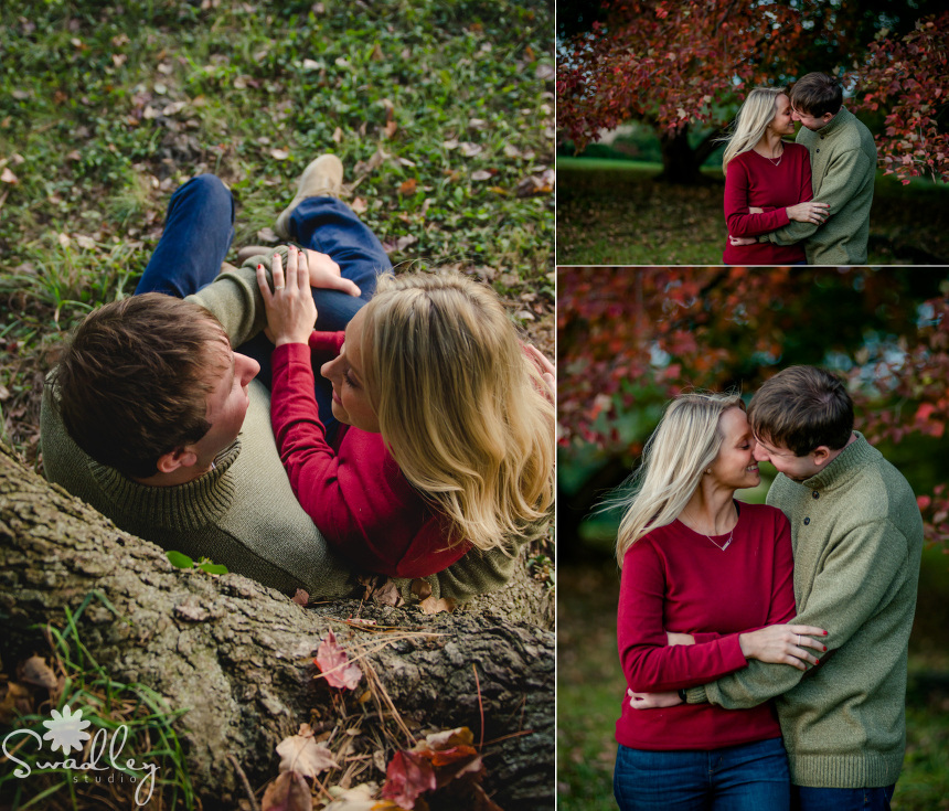 romantic engagement wedding photographers swadley studio