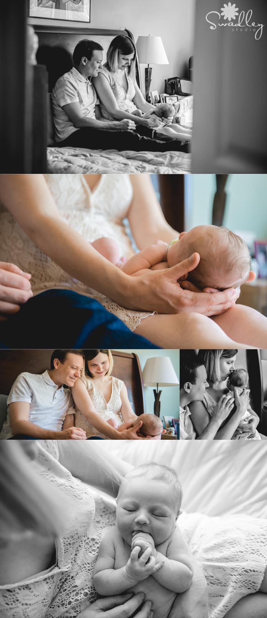 fairfax va newborn photographer lifestyle studio