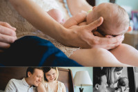 fairfax va newborn photographer lifestyle studio