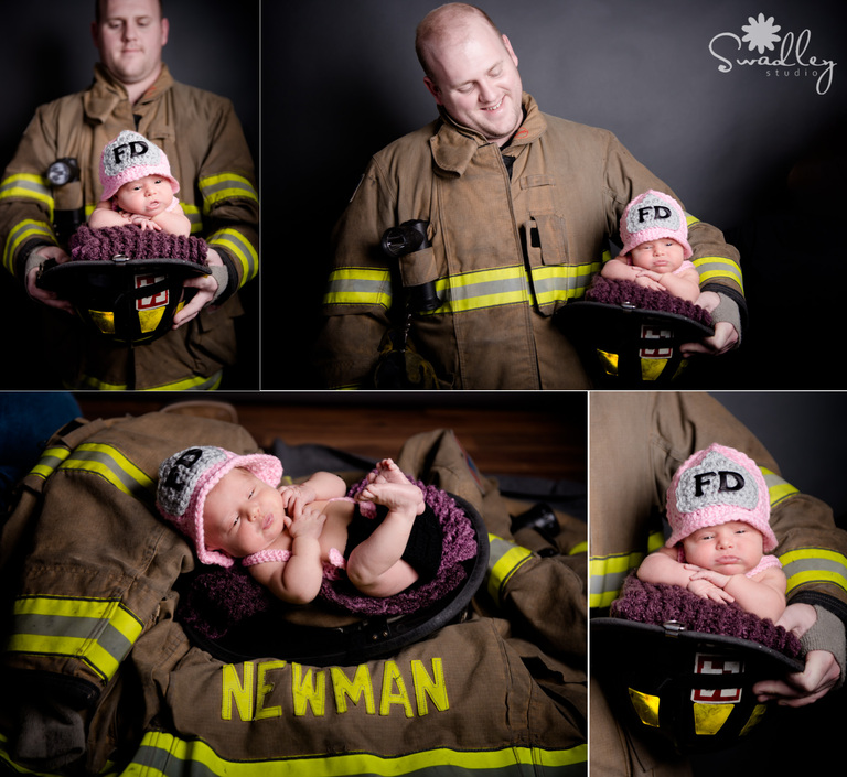 firefighter martinsburg wv newborn portraits photography