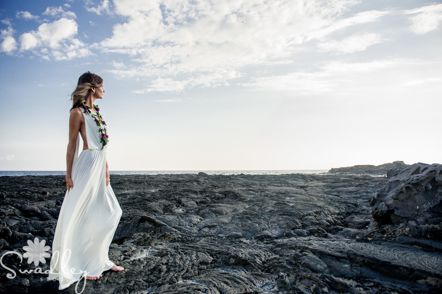 kona hawaii wedding photographers bridal portraits