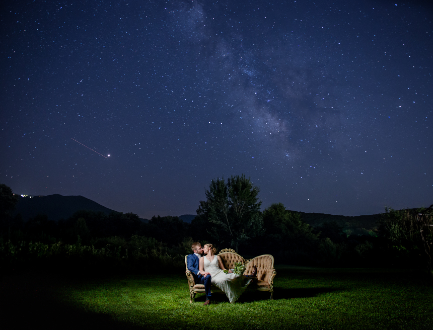 khimaira farm wedding night photography luray virginia