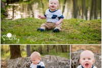 milestone 2 7 months baby portraits
