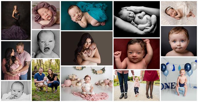 newborn photographers baby plan one year first birthday